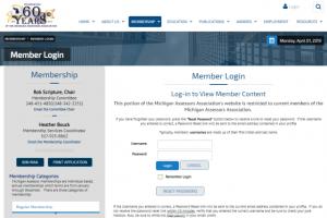 Membership Management Website